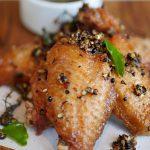 Baked Salt & Pepper Wings