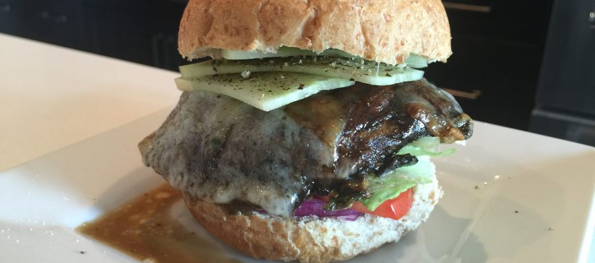 Portabella Mushroom Burgers