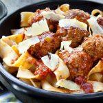 Pappardelle & Sausage Marinara