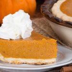 Deep Dish Pumpkin Pie