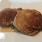 No Wheat Banana Pancakes