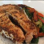 Grilled Salmon & Veggies