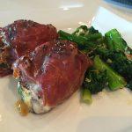 Prosciutto-wrapped Chicken