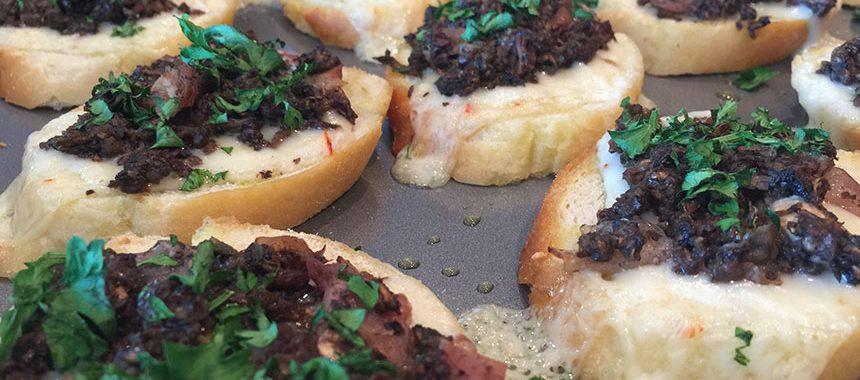 Mushroom & Pancetta Snacks