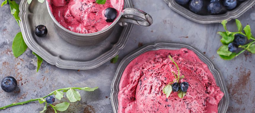 Mixed Berry Frozen Yoghurt