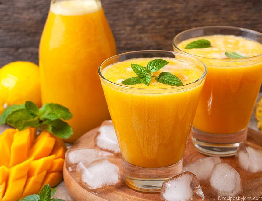 Pineapple Mango Juice – Recipes - 68.8KB