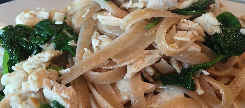 Garlic Fettuccini