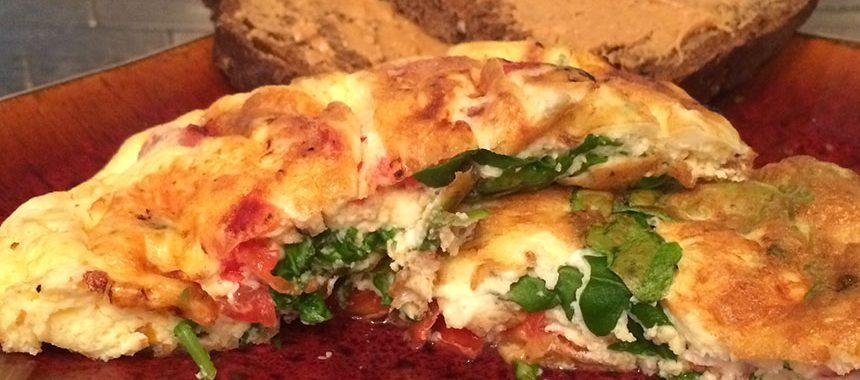 Spinach & Feta Omelette