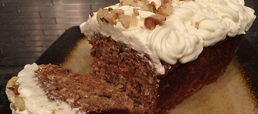 Your Last Carrot Cake Recipe