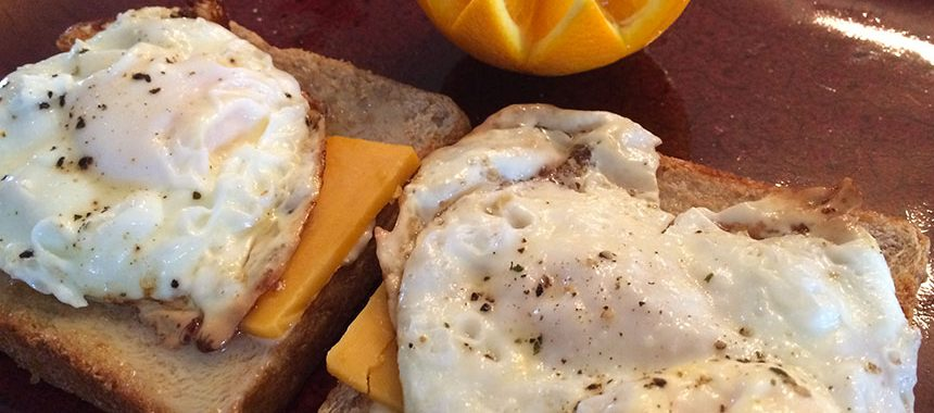 Easy Eggs & Toast