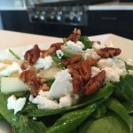 Candied Pecan & Goat Cheese Salad