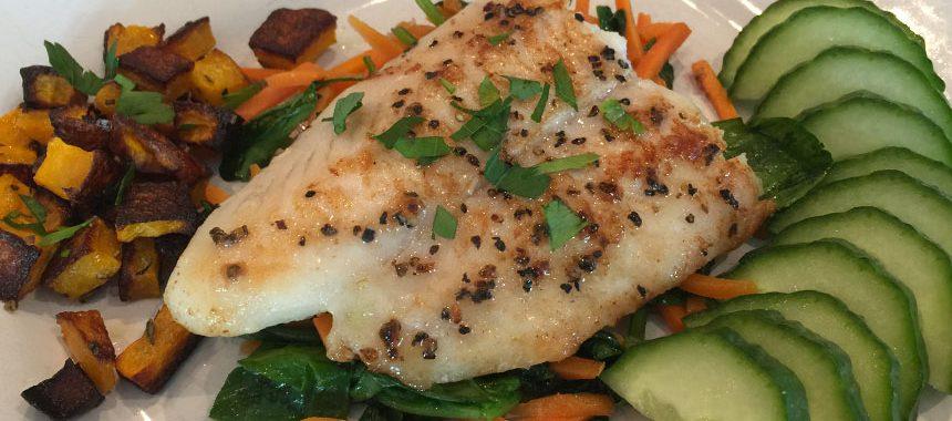 Squash & White Fish Fillet