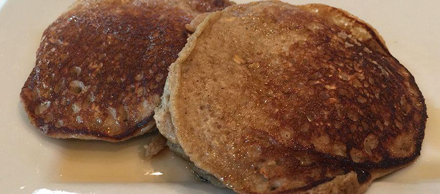 No Wheat Banana Pancakes