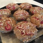 Banana Rhubarb Muffins